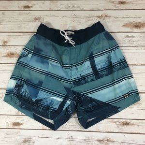 🆕🔥Billabong Men Beach Shorts Navy Size S